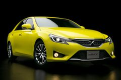 Toyota Mark X �Yellow Label�