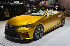 Lexus LF-C2 ����� ������� ���������� �������� ������ ���� Lexus RC.