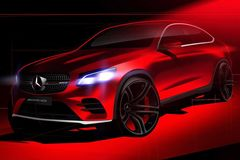 ����� Mercedes-Benz GLC Coupe AMG
