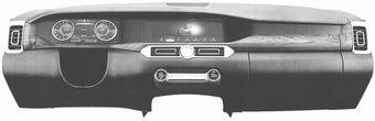 В сети показали форму передней панели автомобиля из проекта «Кортеж»