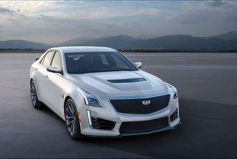 18.08.2016 Cadillac CTS-V с 649-сильным компрессорным V8 оценили в 6,49 млн рублей