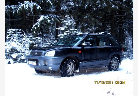 Hyundai santa fe classic 2004 бензин 2700 куб см v6 173 л с