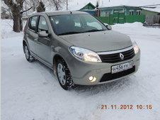 Renault Sandero  ����� ��������� | ���� ����������: 03.01.2013