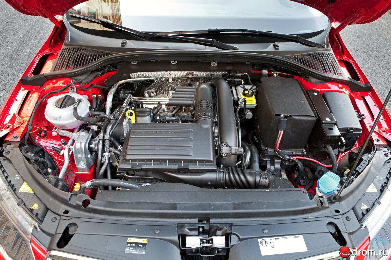 Какие двигатели на шкодах