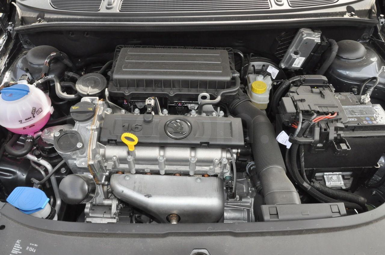 Замена масла в двигателе шкода фабия