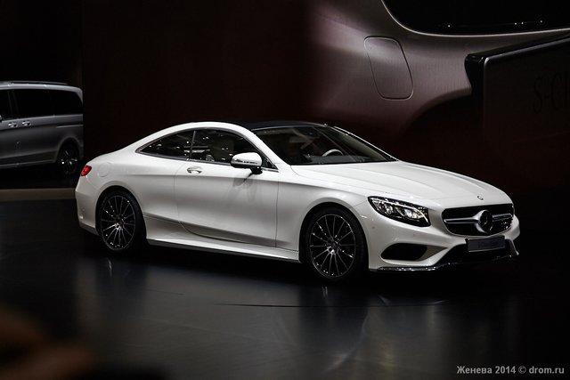 Женевский автосалон 2014 - Европейские премьеры от Mercedes: S ...