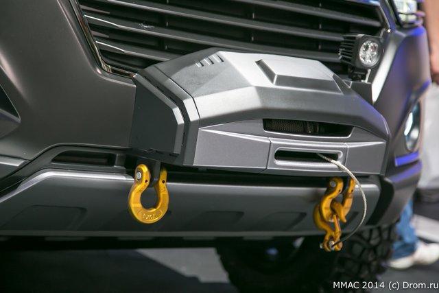 фото салона авто прототипа шевроле нива в московском автосалоне