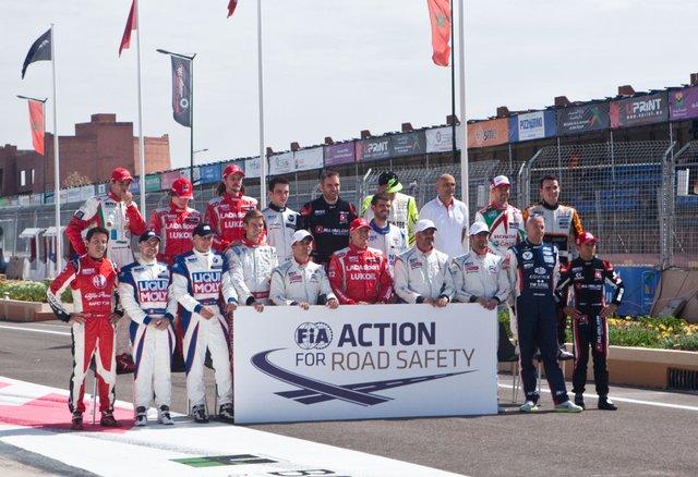 Общее фото перед стартом гонки