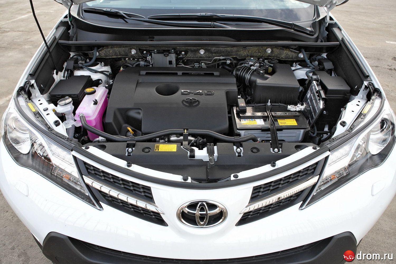 toyota rav4 проблемы с двигателем