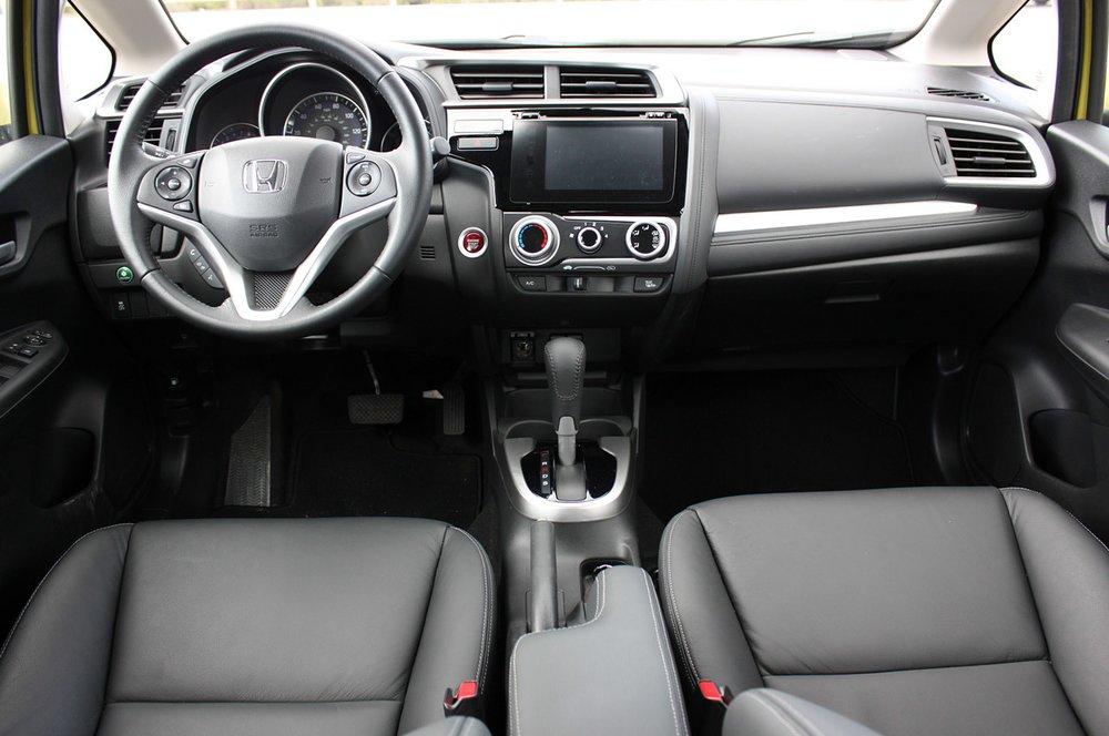 Honda Fit 2015 - салон!