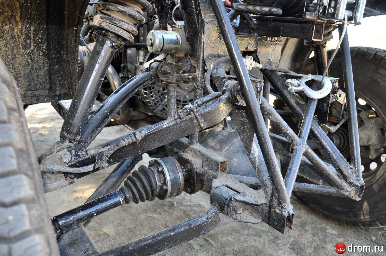 Квадроцикл своими руками из двигателя 2108
