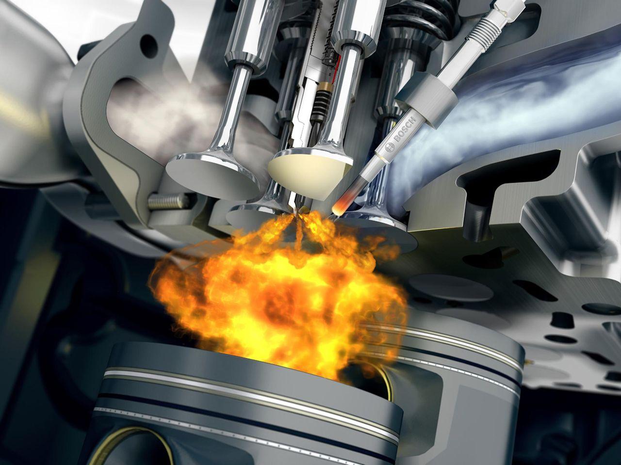 топливная схема двигателя 2ct