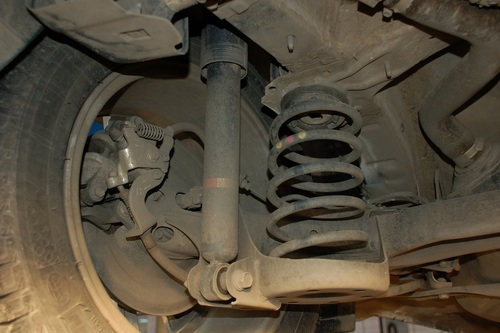 Задняя подвеска Corolla