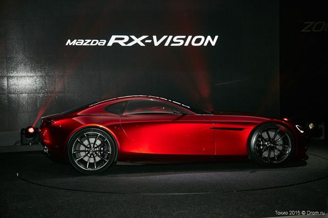 Концепт-кар Mazda RX-Vision. Красавец! Других слов нет