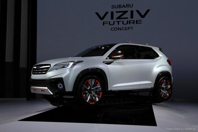 Концептуальный внедорожник Subaru Viziv. Обещает быть красивым и умным