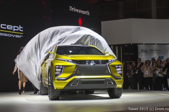 Концептуальный внедорожник Mitsubishi eX