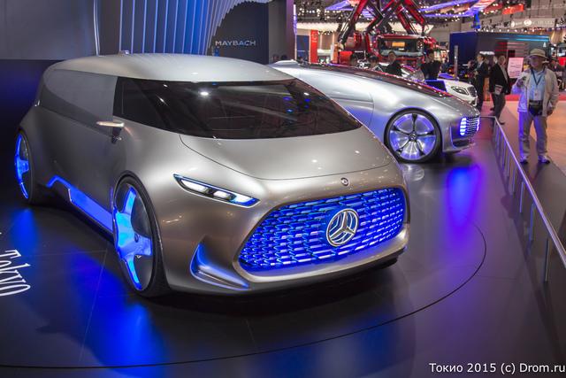 Концептуальный минивэн Mercedes Vision