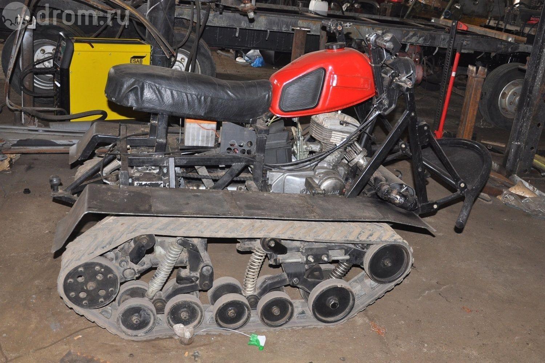 Двигатель для снегохода от мотоцикла своими руками