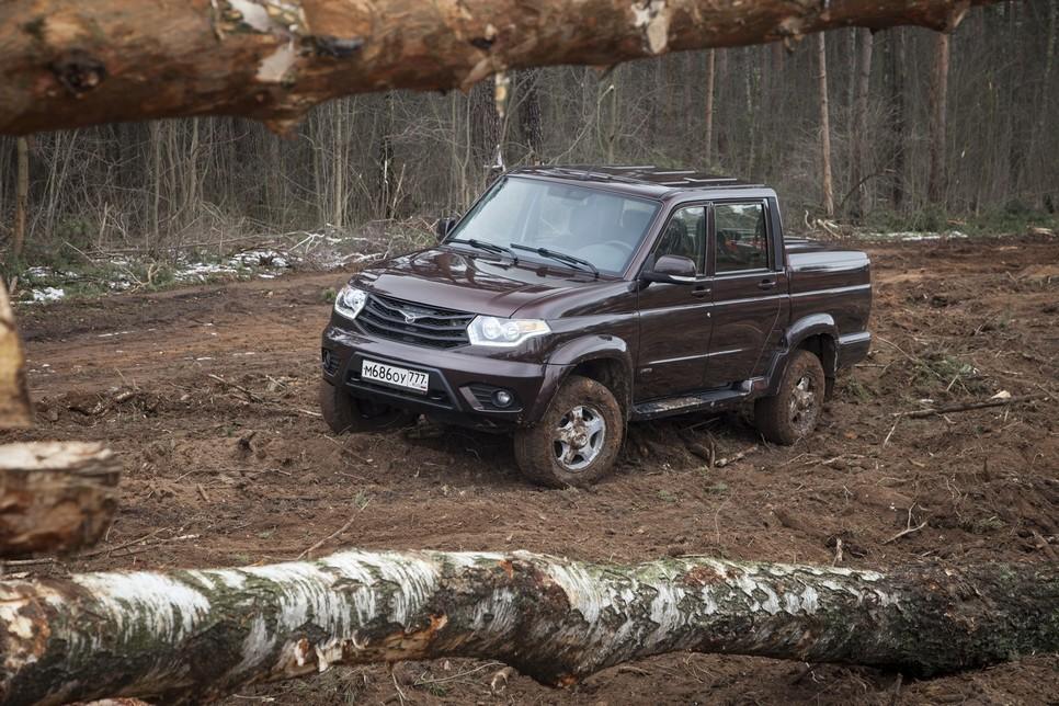 Пикап в лесу за деньги фото 74-911