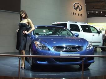 Infiniti G37 на выставке «Авто + Автомеханика 2007».