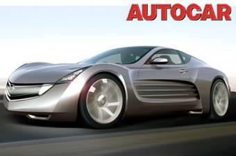 Вот так будет выглядеть Mazda RX-7 нового поколения с точки зрения журнала Autocar.