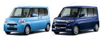 Daihatsu Tanto X Limited Special 2WD и Daihatsu Tanto Сustom RS 2WD.