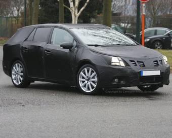 На дорогах Германии был замечен вот такой автомобиль. Есть предположения, что это Toyota Avensis нового поколения.