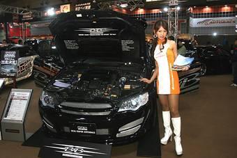 Subaru Legacy BBtune на тюнинг-шоу в Токио.