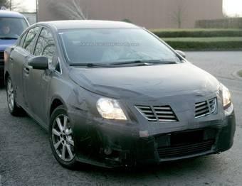 Авто-папарацци из группы Automedia запечатлел тестовый образец седана Toyota Avesis.