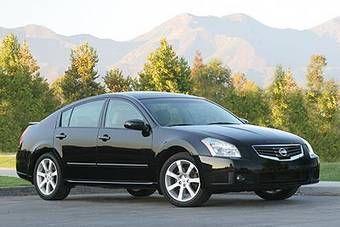 Новое поколение седана Nissan Maxima будет показано на автошоу в Нью-Йорке в середине марта 2008 года. На снимке изображено нынешнее поколение модели.