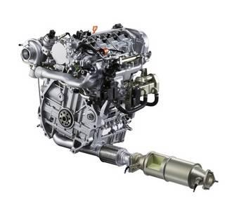 Acura i-DTEC Clean Diesel Engine в настоящее время демонстрируется на Детройтском автосалоне.