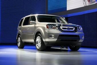 Прототип нового поколения Honda Pilot был представлен в Детройте.