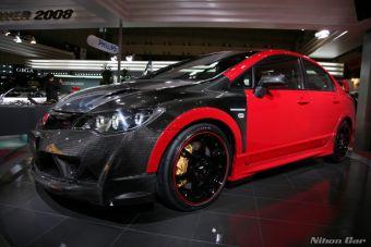 Мастерская Mugen представила проект тюнинга автомобиля Honda Civic Type-R.