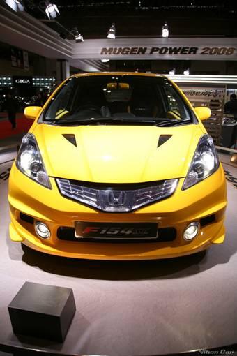 Мастерская Mugen на Токио тюнинг-шоу 2008 представила 150-сильную версию автомобиля Honda Fit.