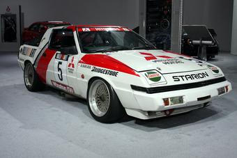 Mitsubishi Starion Turbo выступал на раллийном чемпионате в течение 4-х лет.