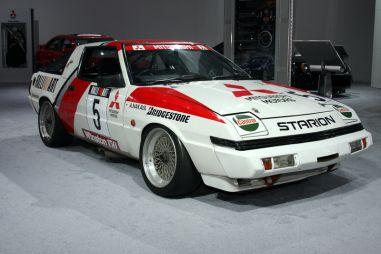 Детройт 2008: Mitsubishi показала раллийные ретромобили