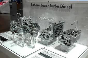Дизельный двигатель Subaru вышел в серийное производство.
