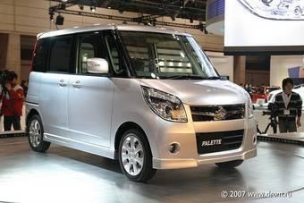 Премьера Suzuki Palette состоялась в 2007 году на автосалоне в Токио.
