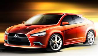 Mitsubishi Prototype-S будет представлен в марте на Женвском автосалоне.