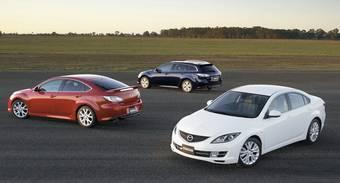 Новое поколение автомобилей Mazda Atenza вышло на внутреннем рынке Японии.