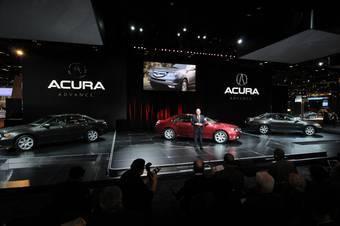 Премьера обновленной Acura RL состоялась на автомобильной выставке в Чикаго.