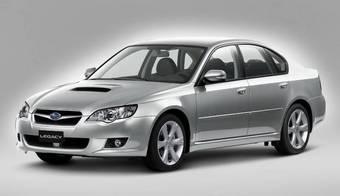 Subaru Legacy с дизельным двигателем.