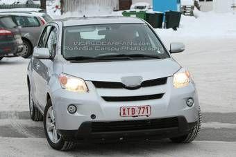 Дизельная версия Toyota Urban Cruiser во время тестов на Скандинавском полуострове.
