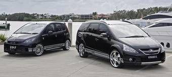 Mitsubishi будет реализовывать на рынке Австралии 5 моделей с набором аксессуаров в стиле «Пантера».