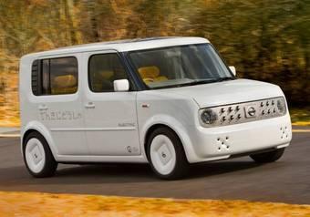 Nissan Denky Cube будет представлен на Нью-Йоркском автосалоне, который откроется для публики в эту пятницу.