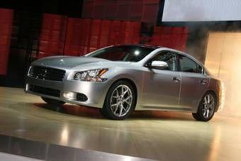 Nissan Maxima седьмого поколения официально представлена вчера на Нью-Йоркском автосалоне.