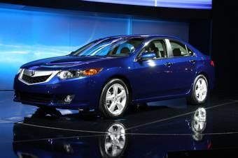 Honda представила в Нью-Йорке Acura TSX нового поколения.