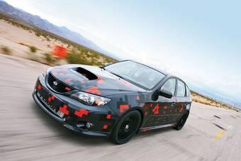Subaru Impreza WRX STI прошла хороший тюнинг в мастерской Perrin.