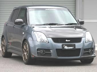 Suzuki Swift Sport в тюнинге от HKS.