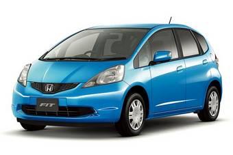 Honda Fit стал лидером японского автомобильного рынка в 2007 году.